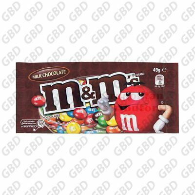 M & M'S MILK CHOCOLATE 49G (x12)