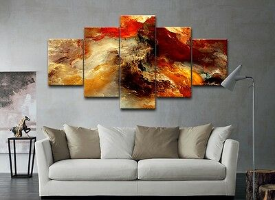 Modern Abstract Canvas Print Paintings Pictures Photo Home Decor Wall Art Framed