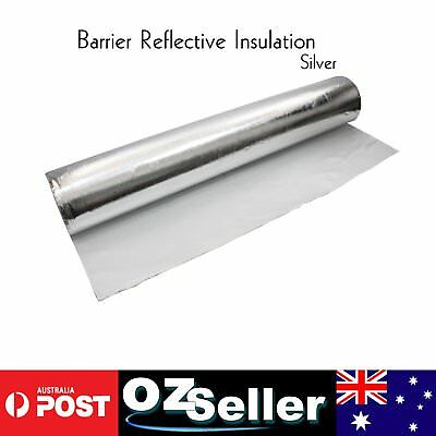 Wall Wrap Foil Insulation Non Breather Insulation Sarking Sheet Wrap 1M x 7.5M