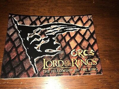 Lord Of The Rings Postcard Orcs