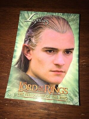 Lord Of The Rings Postcard Legolas