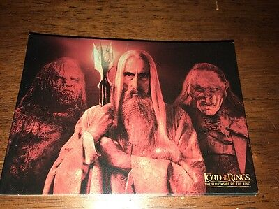 Lord Of The Rings Postcard Gandalf Three