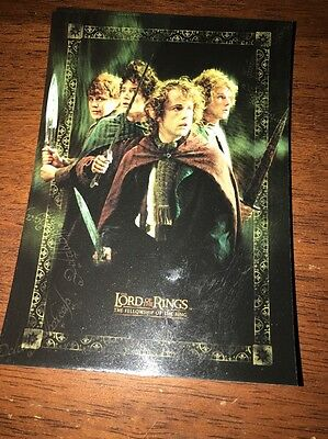 Lord Of The Rings Postcard Group