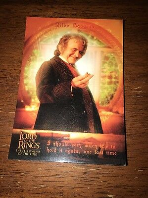 Lord Of The Rings Postcard Orange