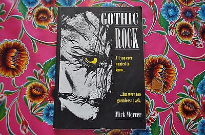 Ultra Rare Gothic Rock by Mick Mercer 1991 Pegasus Publishing 1st Edition A-Z