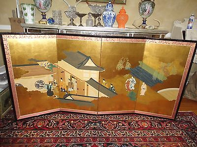 Japanese Byobu Folding Screen