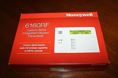 6160RF Fixed English Hardwired Keypad Transceiver