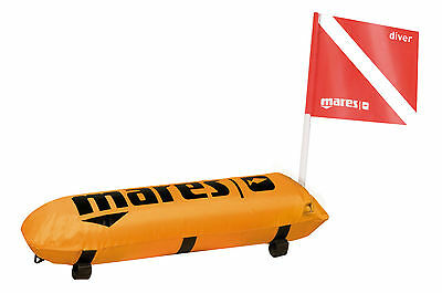 Mares Tech Torpedo Buoy Scuba Dive Freediving Spearfishing Orange 423928