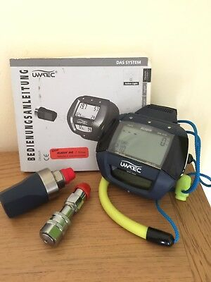 Uwatec galileo sol dive computer with transmitter 400 - Uwatec aladin air x dive computer ...