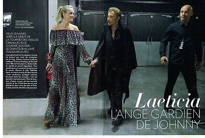 A- Coupure de Presse Clipping 2017 (10 pages) Laeticia Hallyday ange gardien