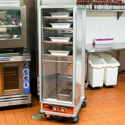 Non Insulated Heated Holding Cabinet Full Size Proofing Cabinet W/ Clear Door