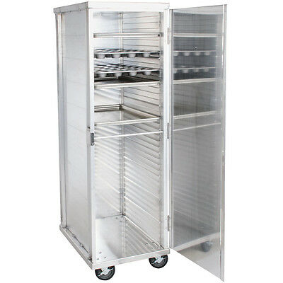 Commercial Kitchen 40 Sheet Bun Pan Bakery Rack Aluminum Oven  End Load Enclosed