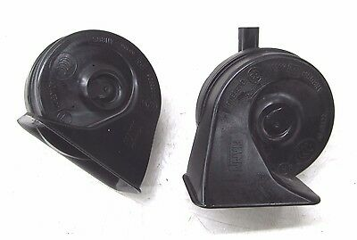 2007-2010 BMW 328i E90 OEM HIGH & LOW NOTE HORN ALARM PAIR (2)