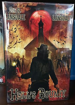 HELL'S BOUNTY - Joe R Lansdale & John L Lansdale - Signed - Limited - New