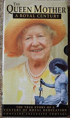 The Queen Mother A Royal Century Vhs Video Cassette Unwatched