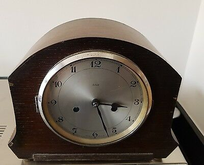 Antique art deco Enfield clock in very good condition.  1930's