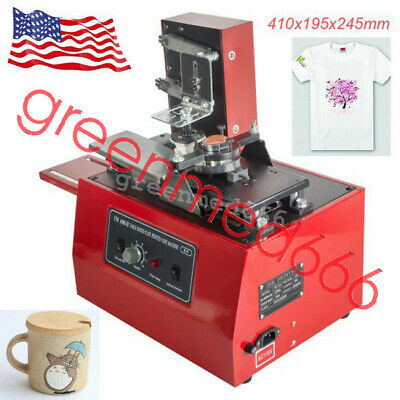 Electric Pad Printer Printing Machine T-Shirt Bottle Cup Inkprint Logos Coding G