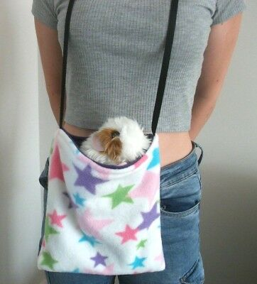 Cozy Pets Guinea Pig Bed Fleece Snuggle Pouch,cuddle Cup Sack Sleeping Bag Large
