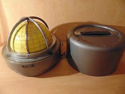 USSR CELESTIAL STAR GLOBE vintage year marine military nautical navigation
