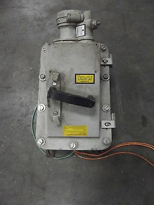 Appleton Explosion Proof Interlocking Breaker Receptacle