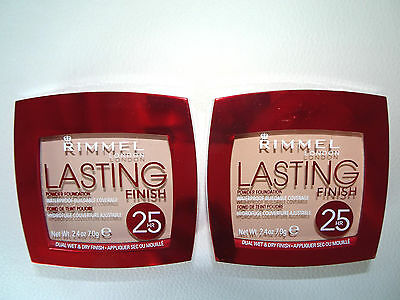 Rimmel 25 Hour Waterproof Powder Foundation Compact CHOOSE SHADE