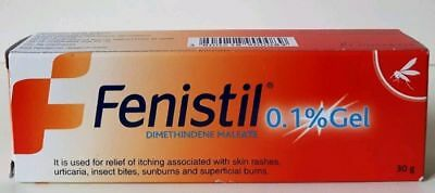 Fenistil Gel 30g Painful Skin inflammation Itching Irritations Insect Stings