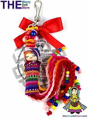 New Worry Doll Mum To Be Charm
