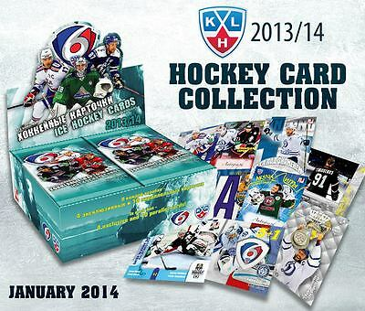 EXCLUSIVE KHL Ice Hockey Trading Cards Collection 6th Season 2013-2014 SeReal