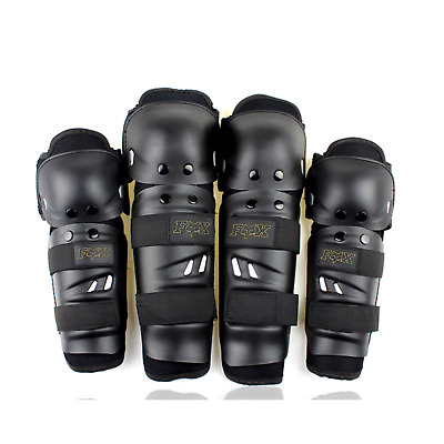 MX Gear Youth Kids Motocross Dirt Pit Pro Bike Moto Knee Elbow Guards Protector