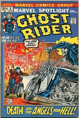 Marvel Spotlight #6 - FN - 2nd Appearance Of Ghost Rider