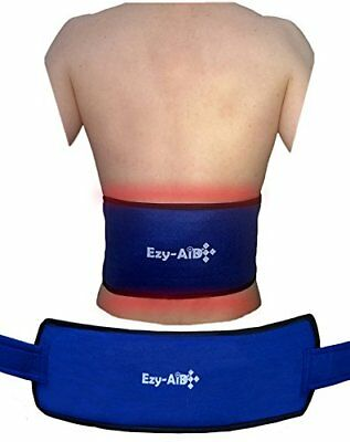 Ezy Compress Wrap For Back / Body, Use Cuff with Hot Cold Gel Ice Pack (1x