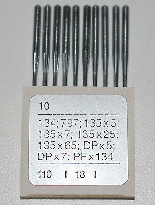 Industrial Sewing Machine Needles 134 797 135x5 135x7 135x25 135x65 DPx5 dpx7 +
