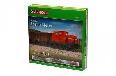 Arnold Starter Goods Train Set - Euro 1:160 N Scale