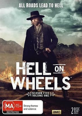 Hell On Wheels : Season 5 (DVD, 2016, 2-Disc Set) NEW + SEALED