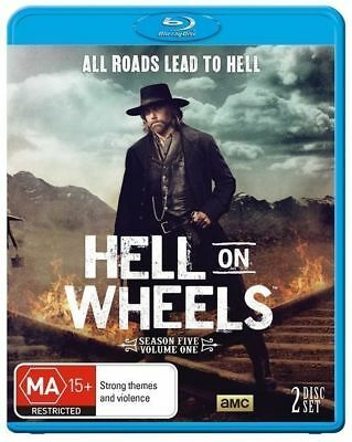 Hell On Wheels : Season 5 (Blu-ray, 2016, 2-Disc) NEW+SEALED