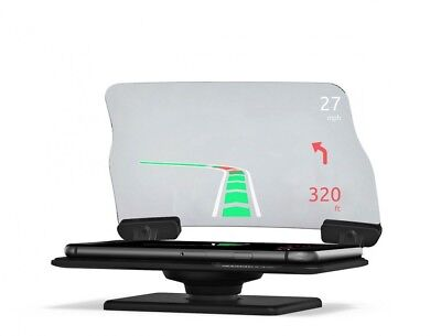 Hudway Head-up Display Smartphone Navigation Auto Safety Navi