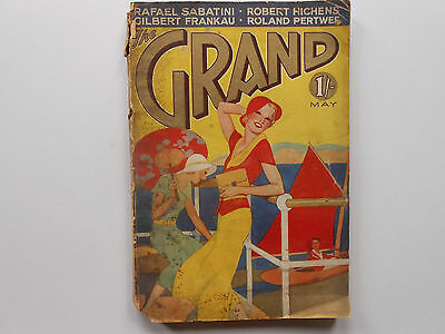** The Grand Magazine - 1932 Vintage Magazine - Great Birthday Gift Idea