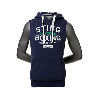 Ladies Super Class Cut Sleeveless Sting Hoodie with Draw String Original RRP $99