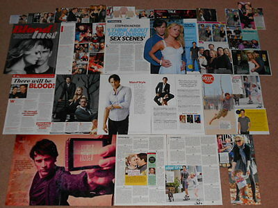 35+ STEPHEN MOYER Magazine Clippings