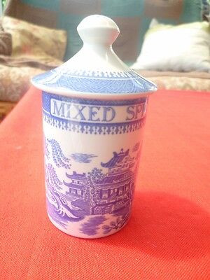 Spode Blue Room Collection Herb and Spice Jars - Mixed Spice