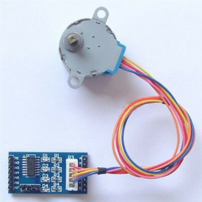 Hot Stepper Motor 28BYJ-48 With Drive Test Module Board ULN2003 4 Phase 5V UK