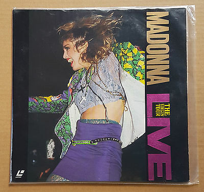 Madonna - Virgin Tour Live 1985 Japan Print Ntsc Dallas Gambler Material Girl