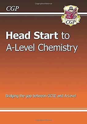 New Head Start To A Level Chemistry Study Aid Revision Book New Free Post