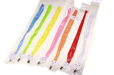Luminous Necklace LED Flashing Nylon Safety Walking Charms Rope Ornaments Gift