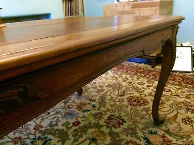Handsome French Louis XV Style Long Dining Table Length 2.6m Width 96cm