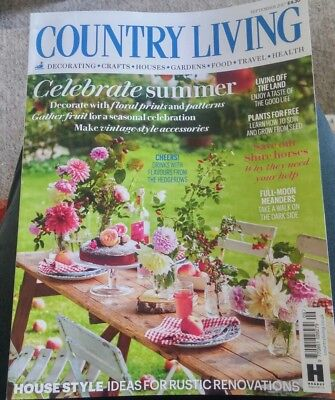 Country Living September 2017 + 50 style ideas - kitchens and bathrooms leaflet