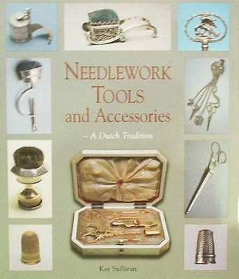 Book : Needlework Tools & Accessories (antique,silver,gold,brass,sewing,needle