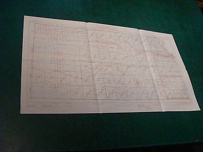 Original Index to Topographic Mapping in KANSAS april 1955 aprox 17 x 29""