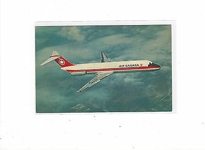 Air Canada airlines issued DC-9 postcard #1