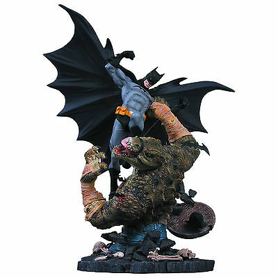 DC Comics Batman Vs. Killer Croc Statue 2nd Edition UK Seller